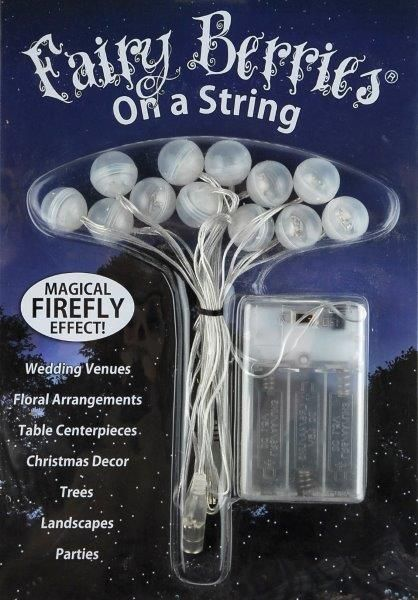 Fairy Berries LED String Party Lights Battery Operated