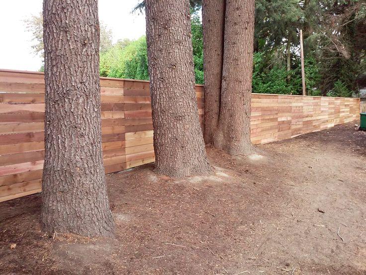 Best 25 Wood Fence Installation Ideas On Pinterest Wood