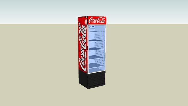 Large preview of 3D Model of Refrigerator (Cola)