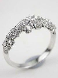 A purity ring, what a great idea for dads to give there daughters. To take place of there wedding band when they are young. A sign of abstinence. Especially a good idea for parents with daughters in high school. It shows their Christian faith.