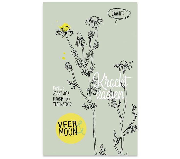 Bloemzaadjes van Veer&Moon - Kracht zaaien. www.Millows.nl