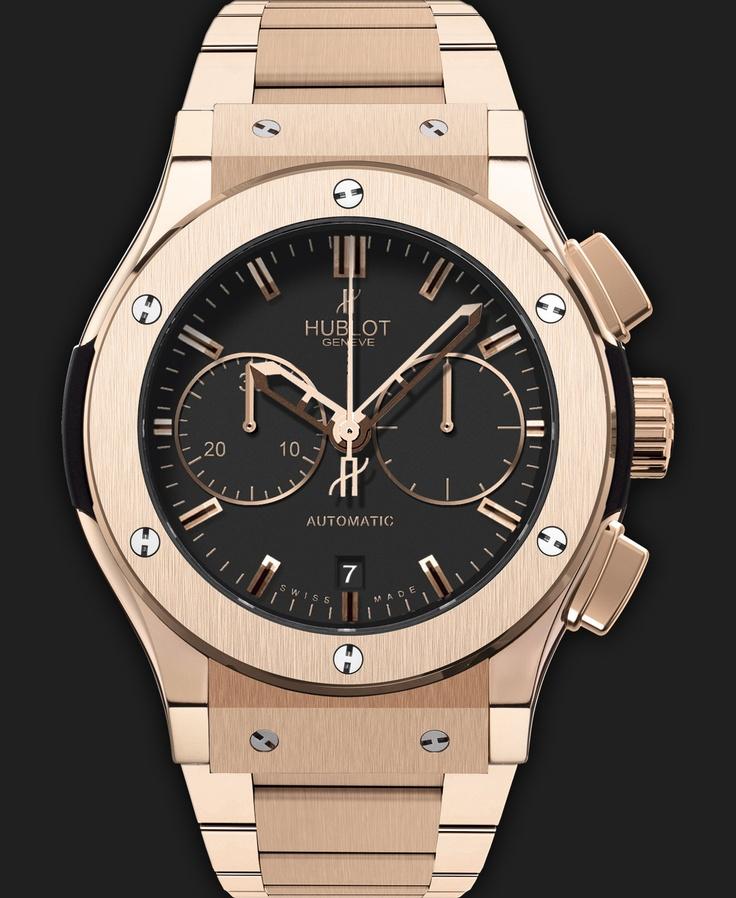 Chronograph King Gold Bracelet