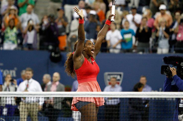 5X U.S. OPEN CHAMPION SERENA WILLIAMS TAKES IT ALL!.... World #1 Serena celebrates beating Victoria Azarenka, 7-5, 6-7, 6-1, in the Singles Championship Final on Day 14 of the 2013 US Open. Serena wins Major Title #17! Collects $2.6 Million in Prize Money Plus $1 Million in Bonus Money for Winning the U.S. Open Bonus Challenge. 9/8/13 #SoFierce #TEAMSERENA