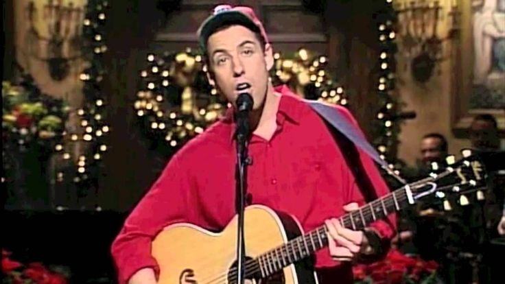 Adam Sandler sings The Christmas Song on SNL. Much better than Jingle Bells.