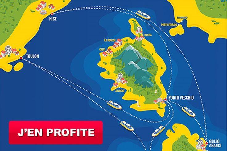 VENTES FLASH : PROMOTIONS JUSQU'A -50%  Profitez de cette offre de dernière minute en contactant nos conseillers séjours jusqu'à vendredi 10 juin. Un expert de la Corse vous guidera et vous fera bénéficier du meilleur tarif pour votre traversée vers la Corse. Réservations : 04 95 10 54 30, de 8h à 18h30