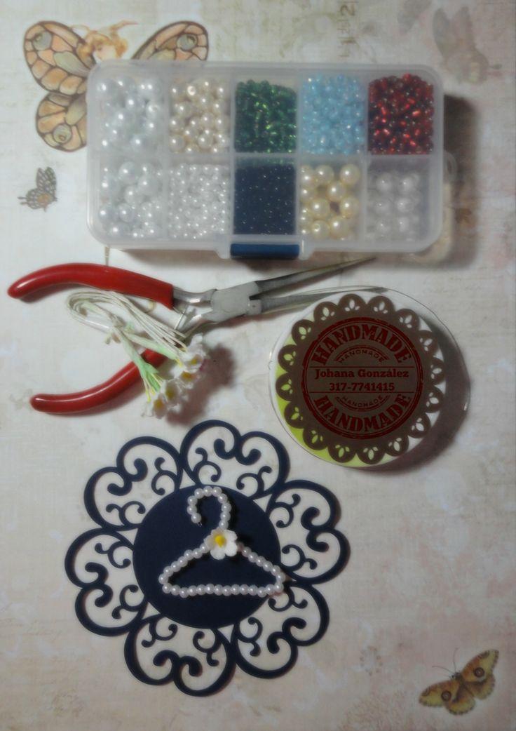 Idea para elaborar ganchitos y decorar tus proyectos