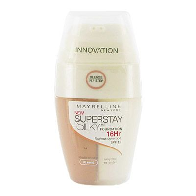 Maybelline Superstay Foundation 16H 30ml 0036431 Maybelline Superstay Foundation is easy to use, simply pump foundation onto finger or sponge and blend directly onto your face. The shade is not comprimised when its blended as the white silky feel tu http://www.MightGet.com/may-2017-1/maybelline-superstay-foundation-16h-30ml-0036431.asp