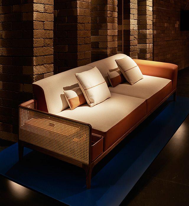 SAMAZING HERMES SOFA | Hermes sofa sellier | bocadolobo.com/ #modernsofa #sofaideas