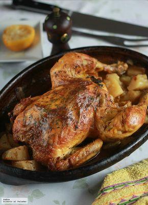 Pollo al horno de mi abuela