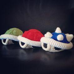 Koopa Shells (Crochet) by SirPurlGrey.deviantart.com on @deviantART