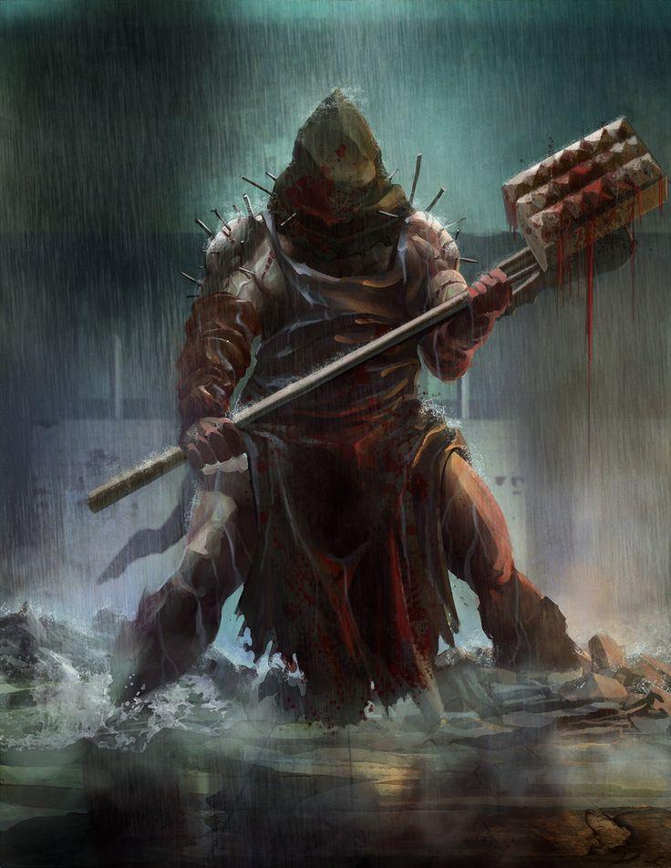 executioner by TylerEdlinArt.deviantart.com on @deviantART