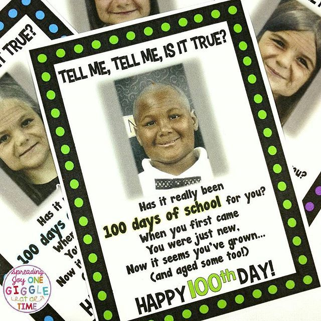 I can't wait for my firsties to find these age progression pictures hanging on their lockers on the 100th Day Of School! I just think the poem is perfect! You can pick up these 100th Day Of School Picture Poems in my TPT store for only $1.00! Link in profile  https://www.teacherspayteachers.com/Product/100th-Day-Of-School-Picture-Poem-2961787 #100thdayofschool #teacherspayteachers