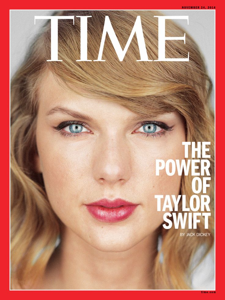 Taylor Swift is on the COVER of Time Magazine!
