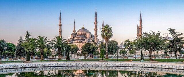 مسجد السلطان أحمد اسطنبول تركيا