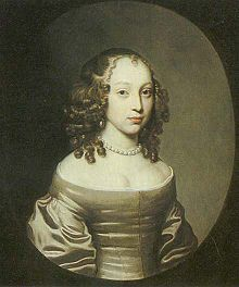 Arabella Churchill (1648 - 1730). Mistress of James II from 1665 to 1674. They had four children, Henrietta, James, Henry, and Arabella FitzJames.