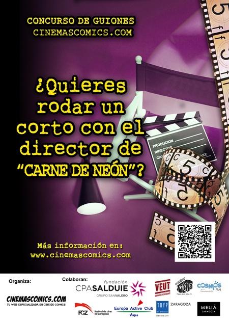 Ya tenemos ganador de nuestro concurso de guiones ¿Quieres dirigir un corto con el director de Carne de Neón?