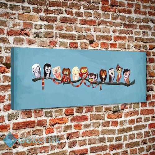 Pnr Kuşlar Tablo #çocuk_odası_tabloları #genç_odası_tabloları