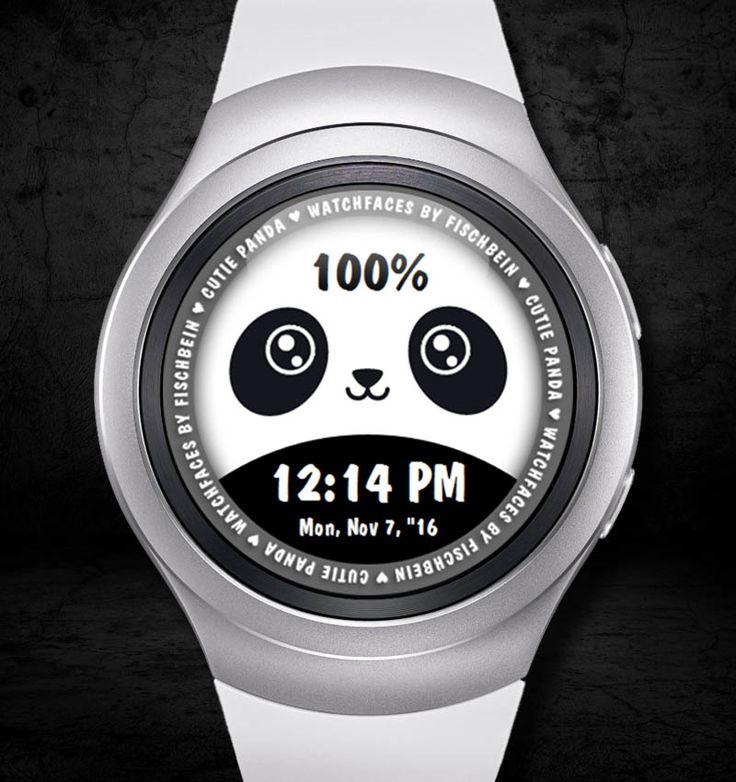 Cutie Panda 12h – Watchfaces by Fischbein