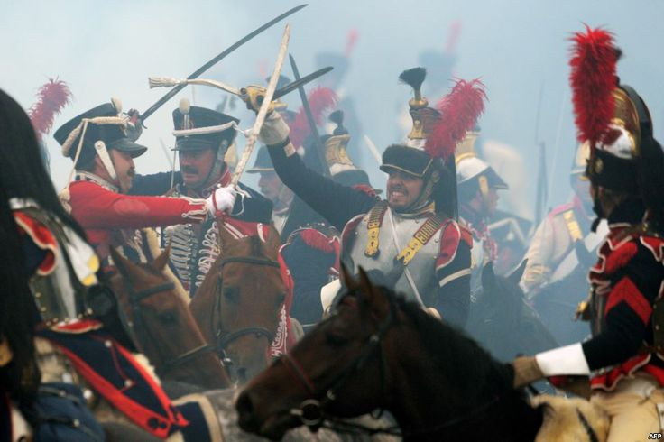100,000 Watch Reenactment Of Russia's Battle Of Borodino
