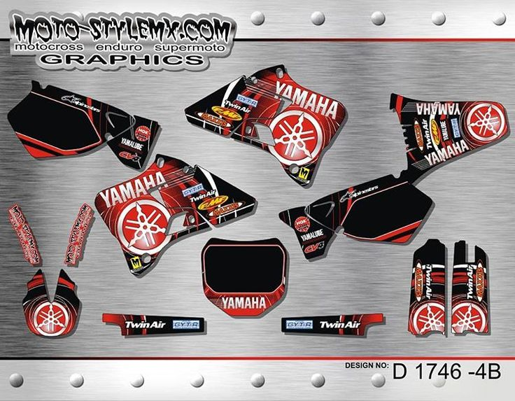 We don't forget about owners of the classic bikes, so we keep updating even our older designs with new colors. Check out this rad red design for #Yamaha #YZ125 #YZ250 '96-'01 @ http://www.moto-stylemx.com/eshop/en/store/yamaha/yz-125-250-96-01/yz125-yz250-96-48-2170-detail #bikedecals  #motostylemx  #motostylemxgraphics  #oldbike  #oldbikes #yamaharacing  #decals  #graphicsdesign