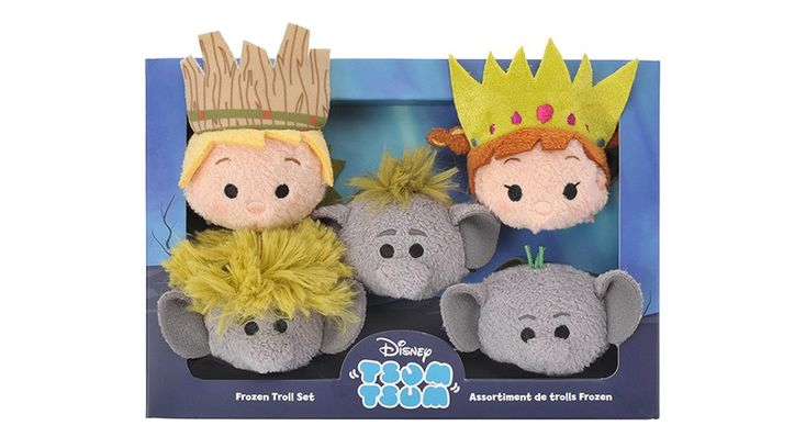 Frozen Troll Tsum Tsum Box Set coming to Japan on March 4, 2017!