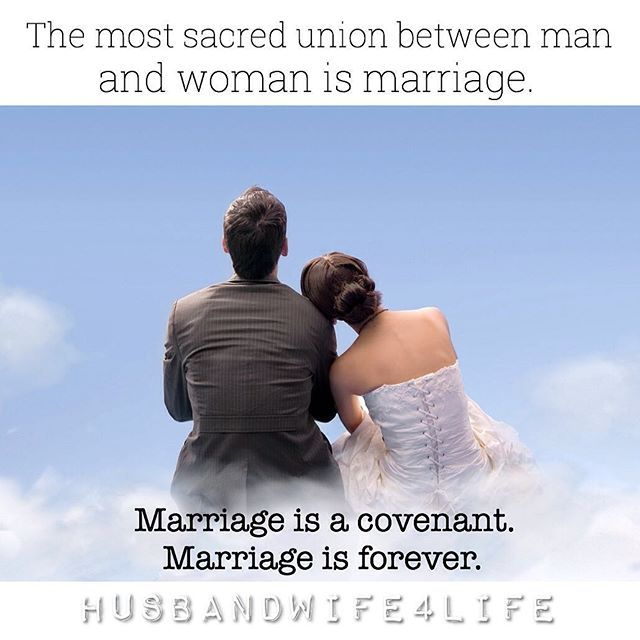 Marriage is for keeps. Tag your husband/wife. IG: husbandwife4life ☝️💛🌻 #repost #marriedlife #marriageadvice #dailyloveminder