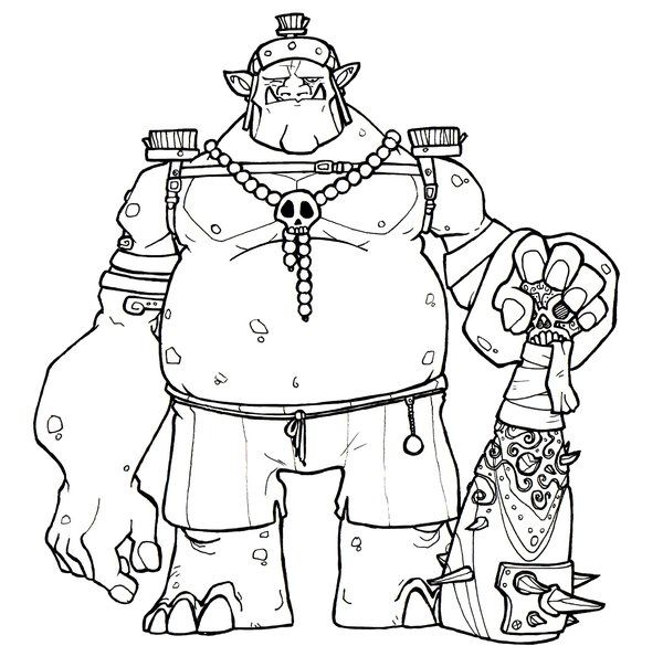 62 best images about trolls et gnomes on pinterest free printable coloring pages coloring - Dessin de troll ...