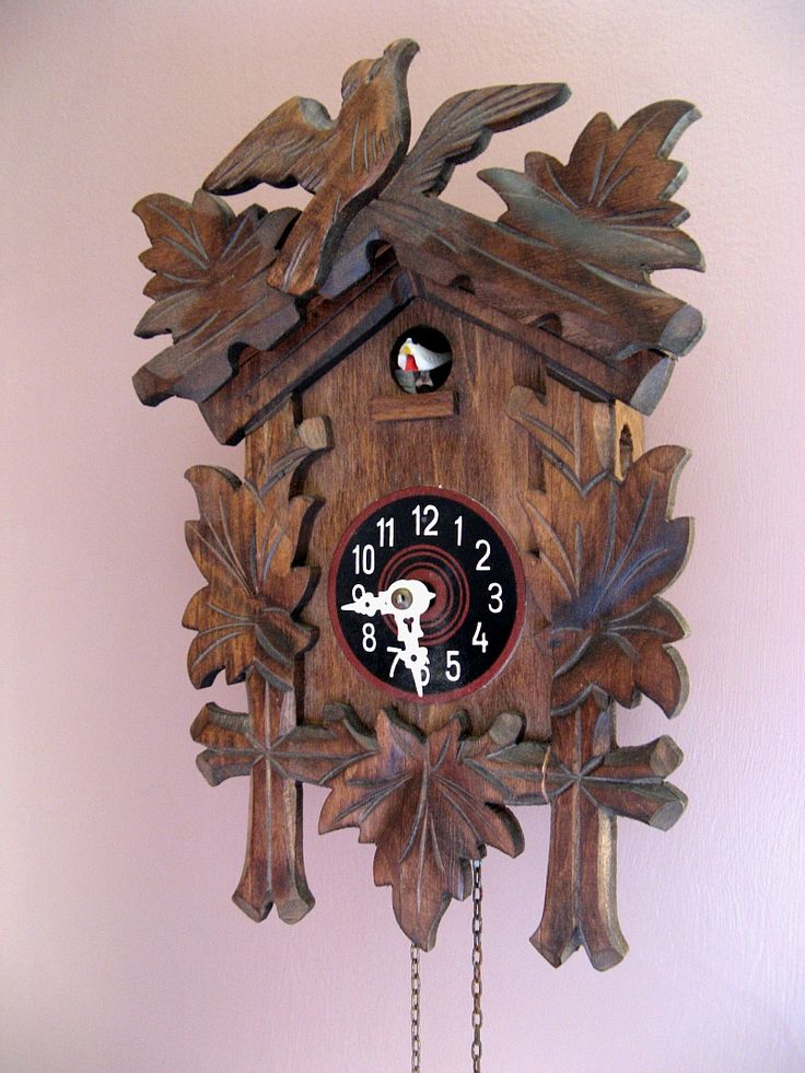 coos+coo+clocks | complete with a little tweet that lives in the coo coo clock