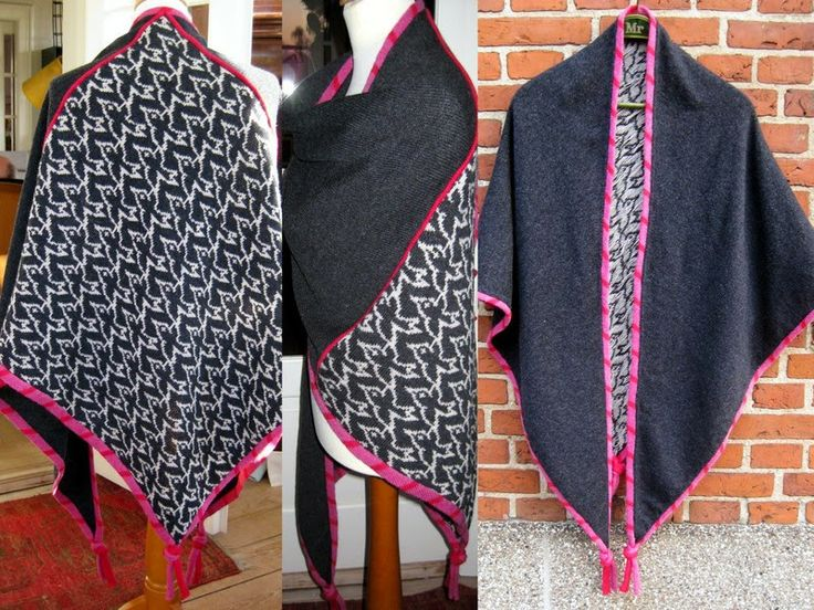 Nørklekonen: Sort Sol (Starling Magic) shawl by Marianne Østergaard. Bo Bendixen made the graphics, and Marianne has made the knitting pattern