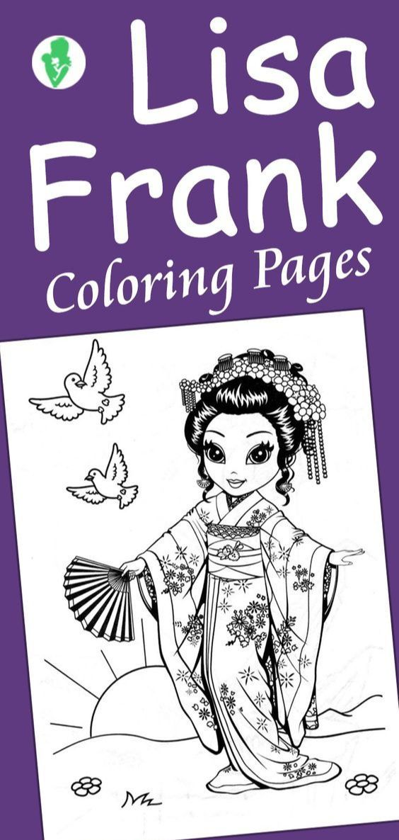 Top 25 Free Printable Lisa Frank Coloring Pages Online ...