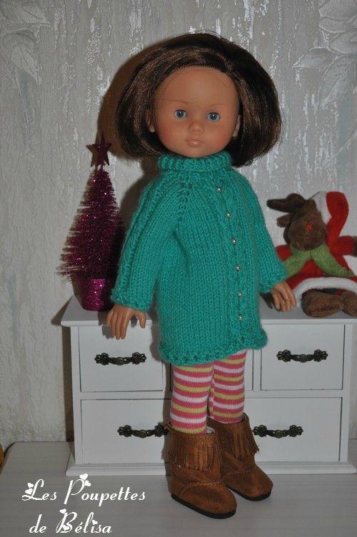 TUTO N° 149 - Une petite robe bien chaude pour ....