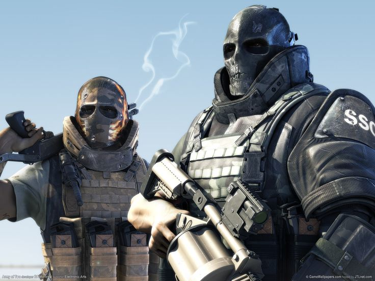 Urban Taggers.: Ballistic masks- Cos Army of Two makes masks cool again