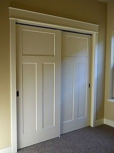 replace bedroom closet bifold doors with these - Sliding Closet Doors