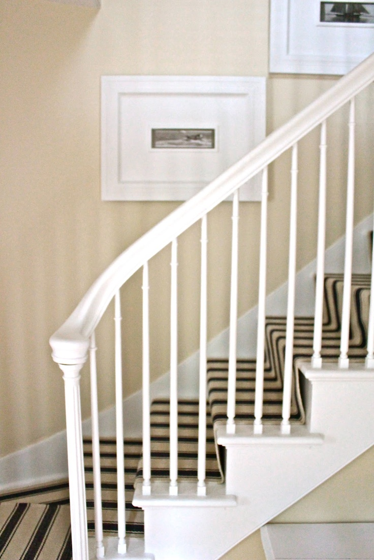 """For the walls, I used Benjamin Moore's Regal Select paint in the """"Bone"""" color as my main wall color."""