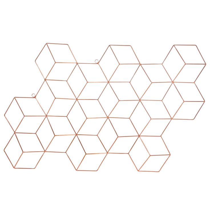 CUBIC COOPER metal wall decoration ...