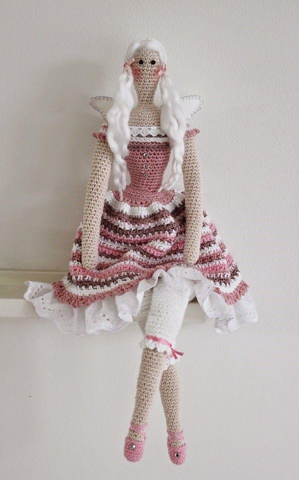 Skapa och Inreda: Virkade Tilda dockor