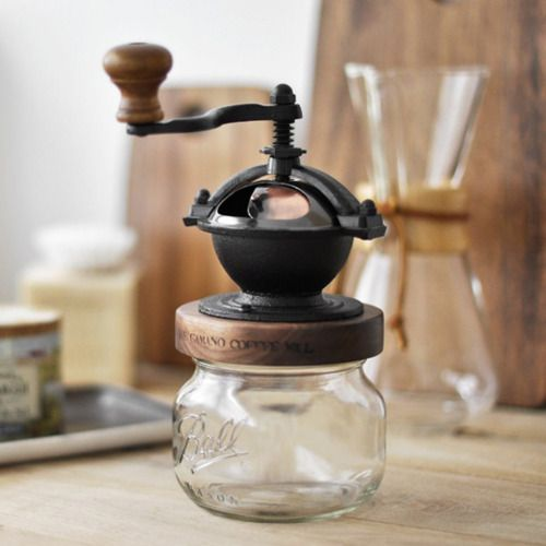 camano island coffee mill. been in love with this for years and still haven't bought one but it will definitely be a part of my french kitchen.
