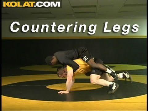 Leg Ride Counter KOLAT.COM Wrestling Technique Moves Instruction