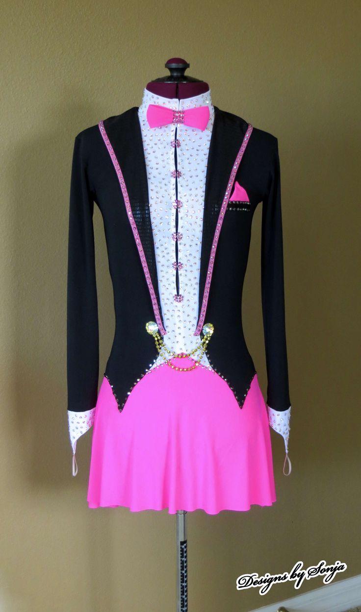 Image result for tuxedo skating dress