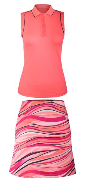 Meet our new Lanai Sunrise Tail Ladies Golf Outfit, so perfect for summer! #golf #ootd #fashion #lorisgolfshoppe