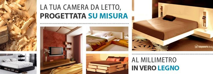 Camere da letto su misura. Falegnamerie Design.it