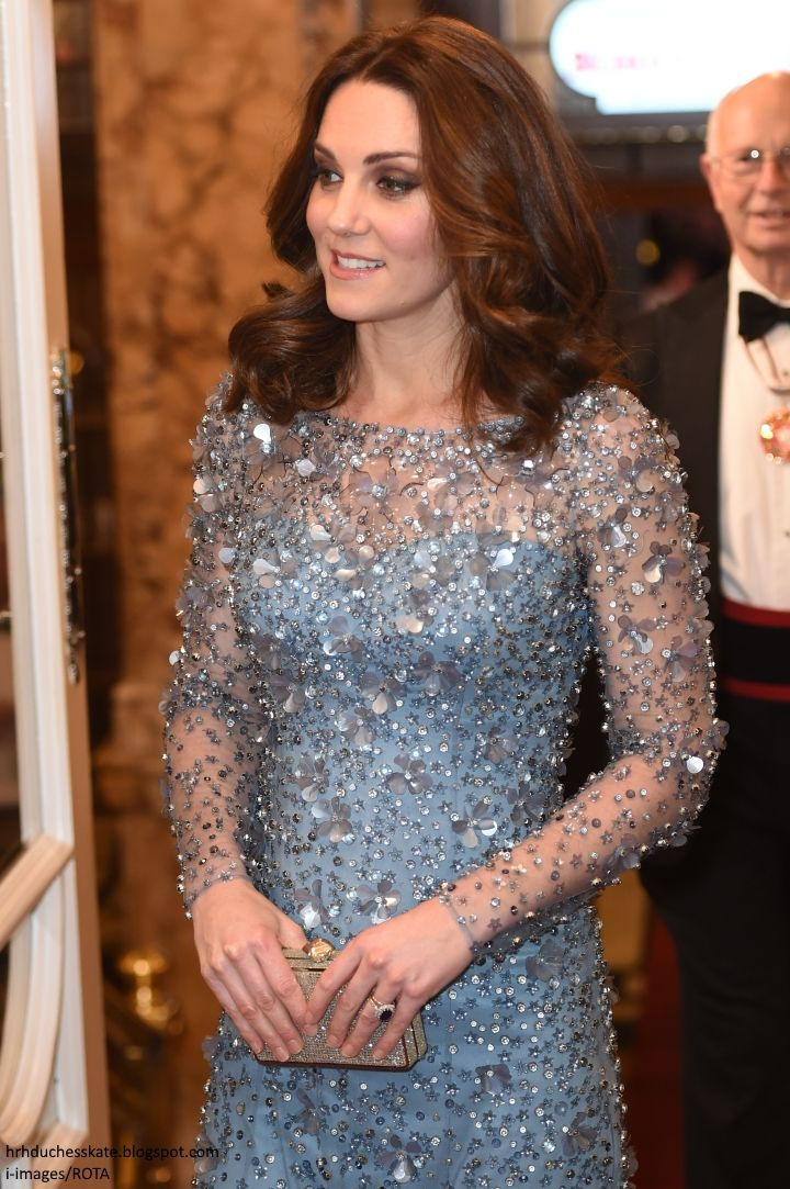 The Duke and Duchess of Cambridge attended the annualRoyal Variety Performance at the Palladium Theatre in London. The event promised ...