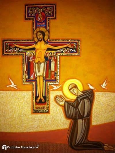 Ante el Cristo de San Damián | San Francisco de Asís ...