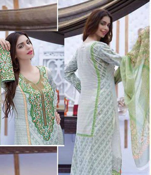 Abeeha By Rana Arts Embroidered Lawn Suits Collection DA_239(A)