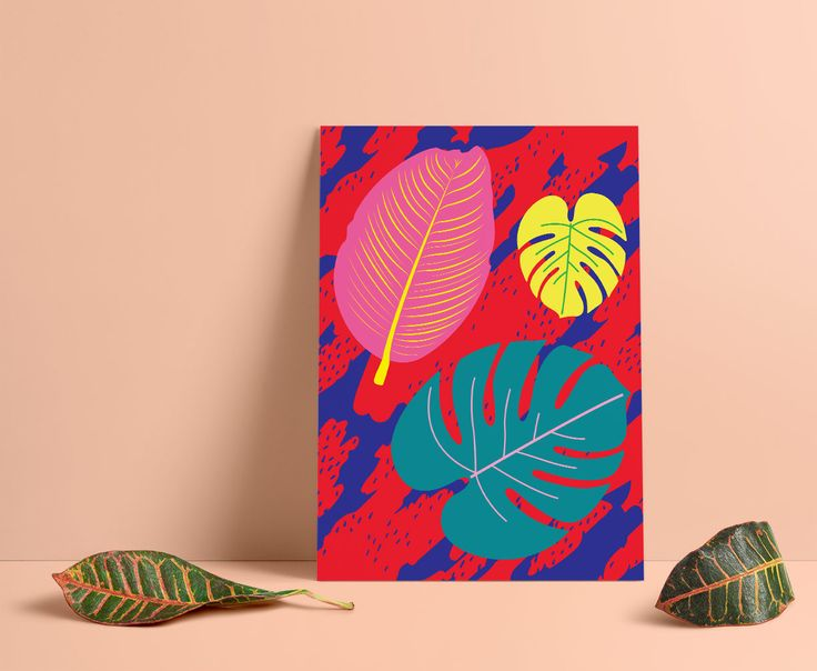 "My ""Labour of Love"" series of prints, can be found on Etsy. #art, #poster, #canvas, #colorful, #design, #homedecor, #Officedecor, #digitalart, #design, #red, #Blue, #leafs, #tropical, #pattern, #dots"