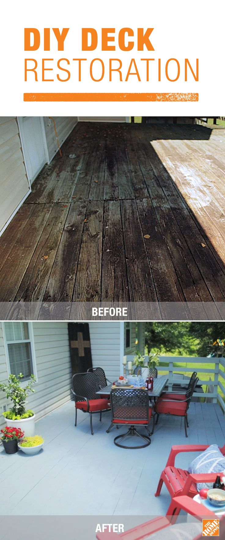 Best 25 deck restore ideas on pinterest diy deck building a patio and deck restoration made easy baanklon Choice Image