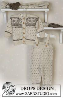 Jacket, pants, hat, mittens, socks and blanket in Alpaca ~ DROPS Design