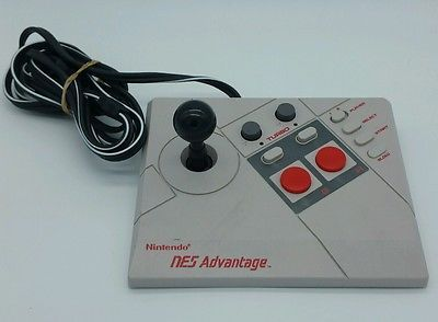 *Exlnt* Original Nintendo NES Advantage Controller Joystick NES-026 Vintage 1987