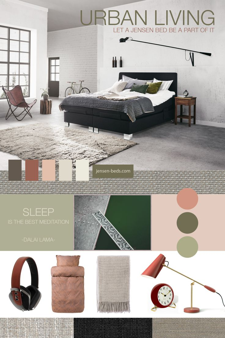 Urban Living - Let a Jensen bed be a part of it! For more information about our adjustable beds, please visit our website: http://jensen-beds.com/ Photo credit: https://papercollective.com/ http://www.byhoff.com/ http://www.mono.no/ https://northernlighting.no/ http://www.rosendahl.com/ https://hoie.no/ http://www.jotun.com/no/no/b2c http://lady.inspirasjonsblogg.jotun.no/