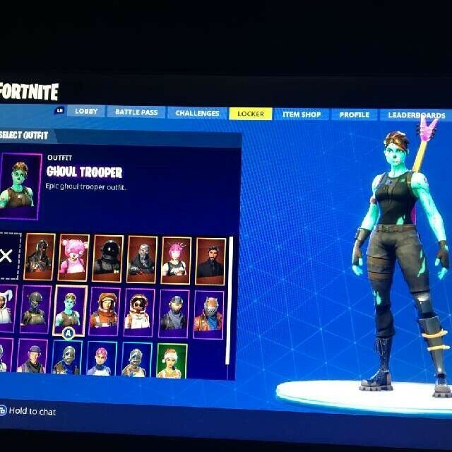 Rare Fortnite Account Ps4 Xbox And Pc Season 1 Skins Fortnite Fortnitebattleroyale Live Ghoul Trooper Epic Games Account Fortnite